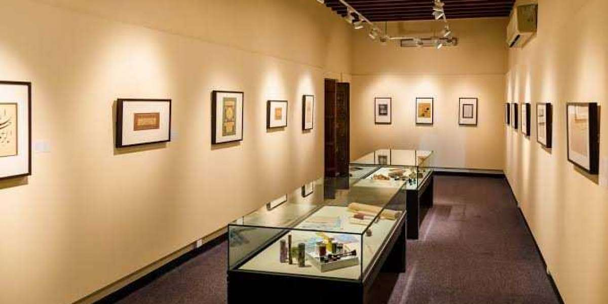 Arabic handwriting museum in Sharjah